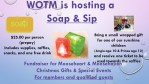 Soap & Sip December 1st 2PM to 4PM