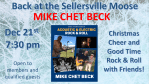 December 21st Mike Chet Beck is back 7:30 PM
