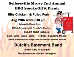 SMOKE-OFF IN THE GROVE- ReScheduled AUGUST 28th 4pm to 9pm