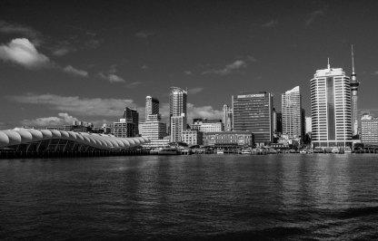 Auckland vue du ferry