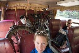 Les vélos aussi ont le droit de prendre le bus...