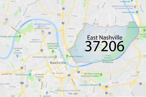 East Nashville Zip Code 37206 2018 Photos