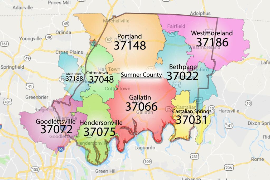 Inspired Homes zip-code-sumner-co-1024x683 Homes for Sale in Sumner County TN