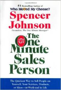 The One Minute $sales Person