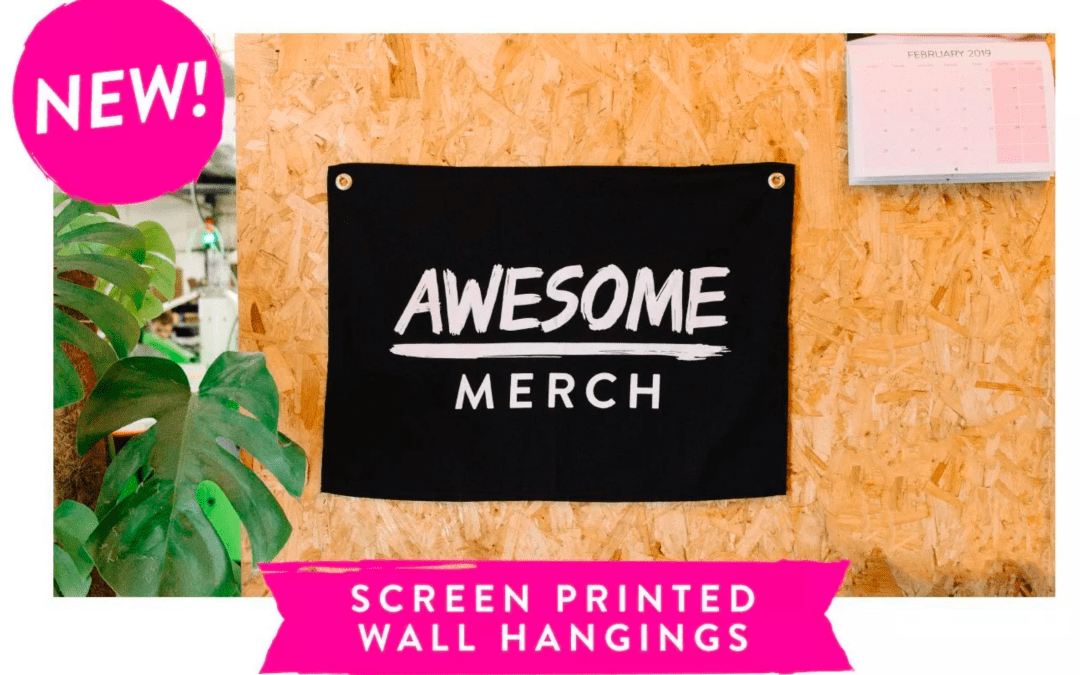 Custom Wall Hangings from Awesome Merch Are Fresh and Clean