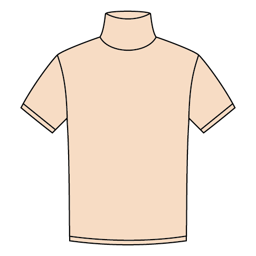 Types of T-shirts - Turtle neck