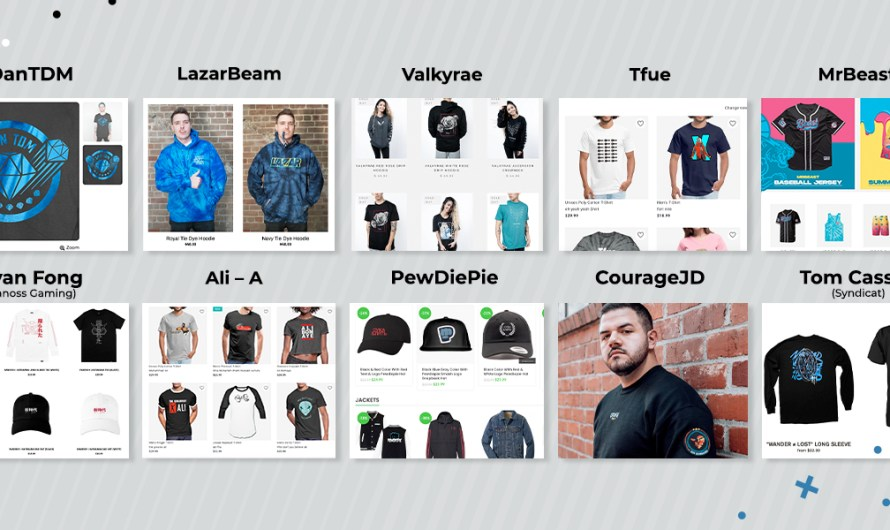 10 Best Gamer Merch Shops and Their Pros & Cons