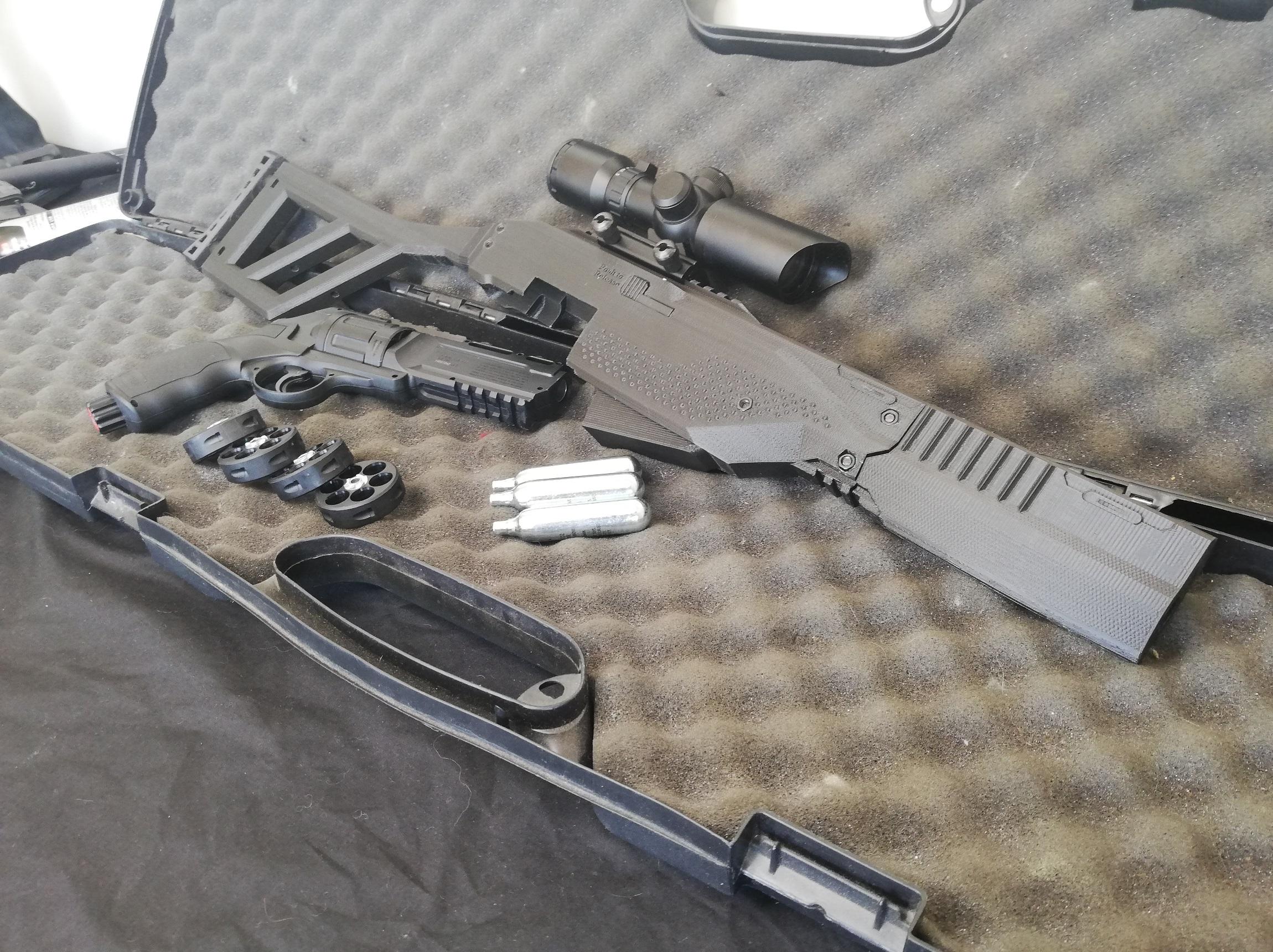 HDR 50 Marksman Rifle Kit 22