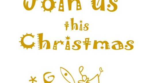 SAMPLE: Christmas Booklet Cover or Half-Size Postcards