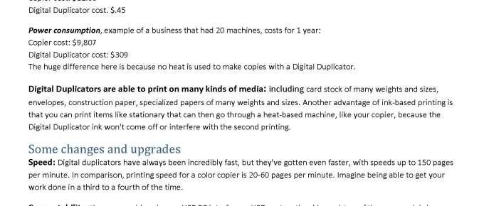 Do Digital Duplicators Still Make Sense?