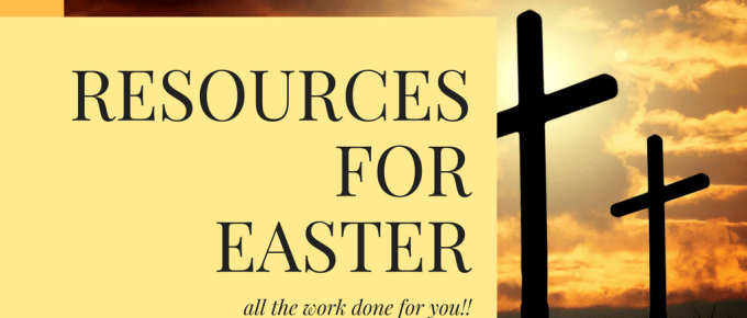 Video overview of FREE Resources for Easter