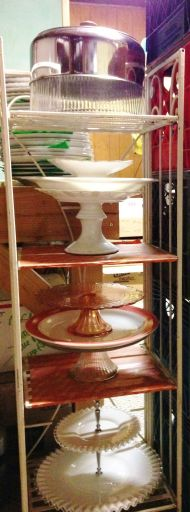 Cakestands, accessories/props