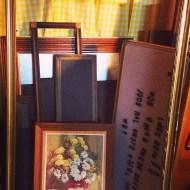 frames, chalkboards, display art