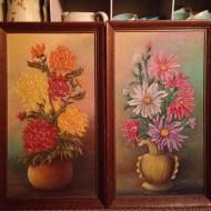 Floral art, accesories/props