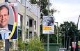 Wahlplakate in Selm