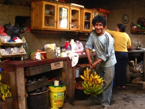 Foto van de Peruaanse koffieboer Alejandro.