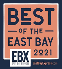 East Bay Express Best of the Bay Logo 2021 f