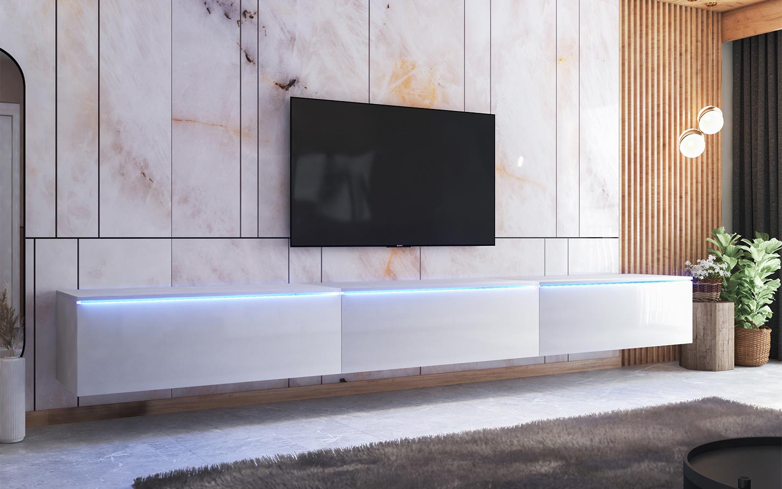 skylara meuble tv 300 cm selsey