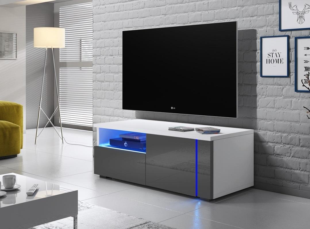 oxy single meuble tv led 100 cm selsey