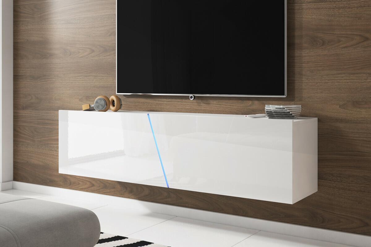 alamara meuble tv led 160 cm selsey