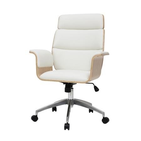 gatinso fauteuil de bureau design blanc