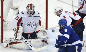 Holtby in Eastern Conference Final against Tampa Bay Lightning
