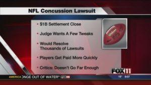 NFL Concussion Lawsuit facts