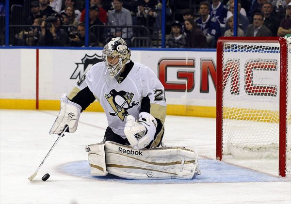 Marc-Andre Fleury butterfly