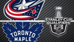 The Toronto Maple Leafs and Columbus Blue Jackets will meet in the Stanley Cup Qualifiers, August 2nd
