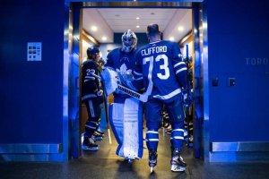 Maple Leafs goalie Jack Campbell