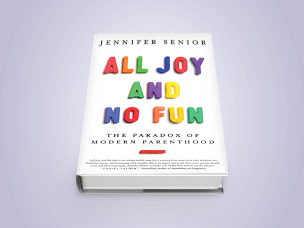All Joy and No Fun / Jennifer Senior Web Design