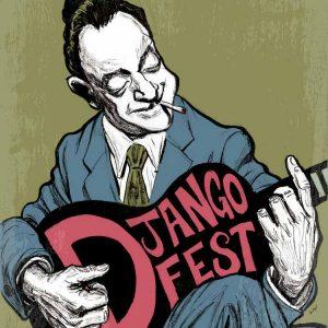 Django Fest Illustration