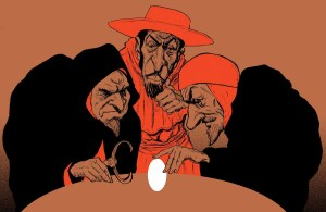 Foody Inquisition Illustration