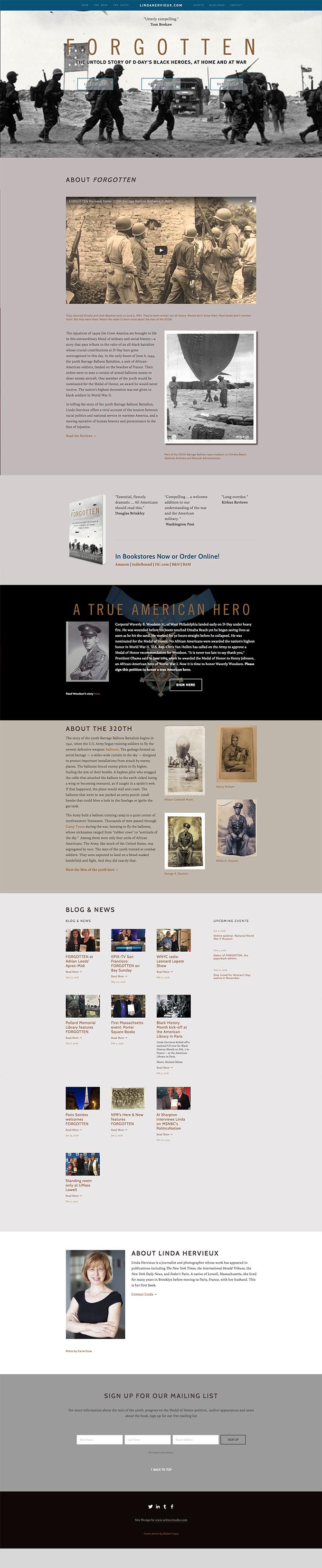 Forgotten Homepage