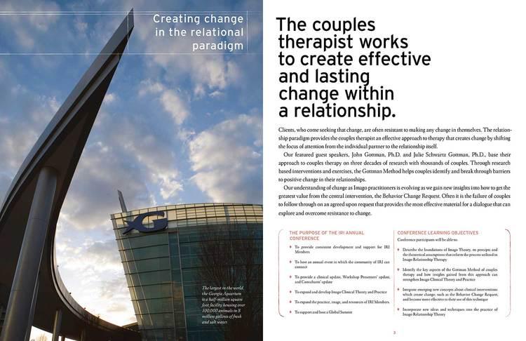 Sample Brochure Spread