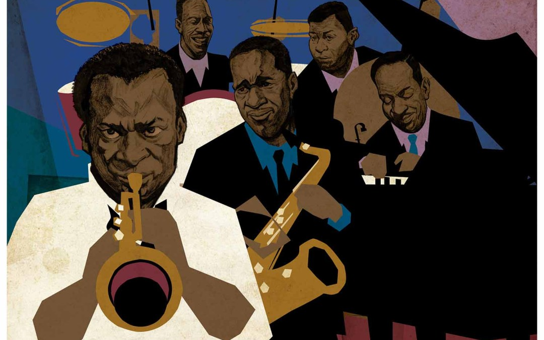 Jazz Prints Illustration