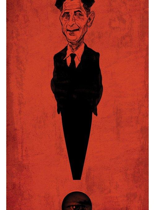 George Orwell Illustration