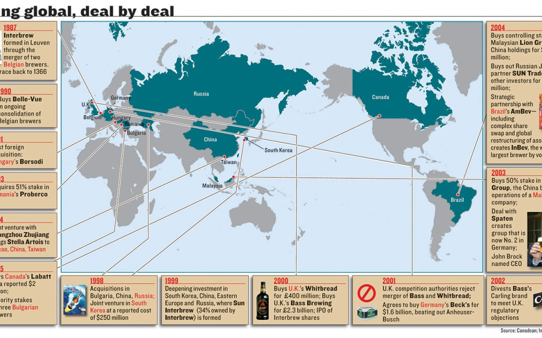 Going Global, Deal by Deal Infographic