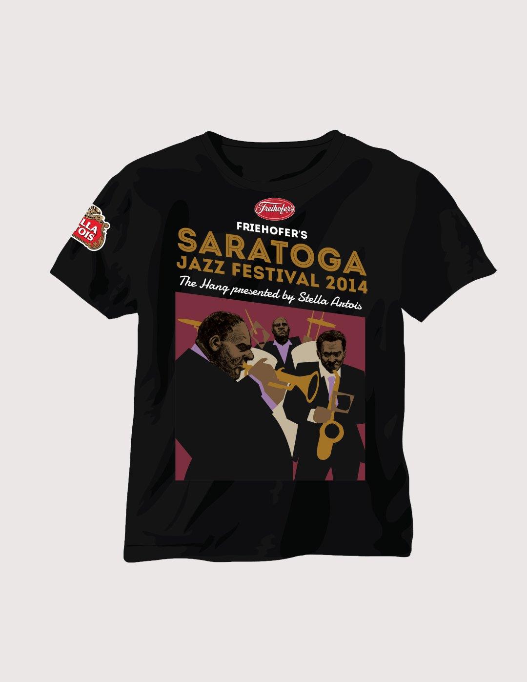Saratoga Jazz Festival T-Shirt