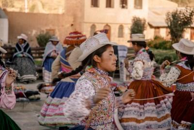Bailes tradicionales del Perú