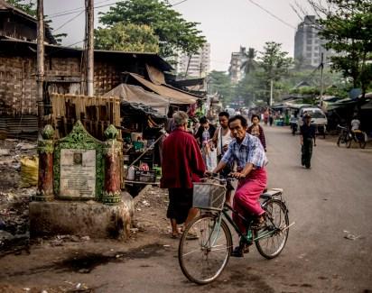 Mingalar Taung Nyunt, the dignity's shanties
