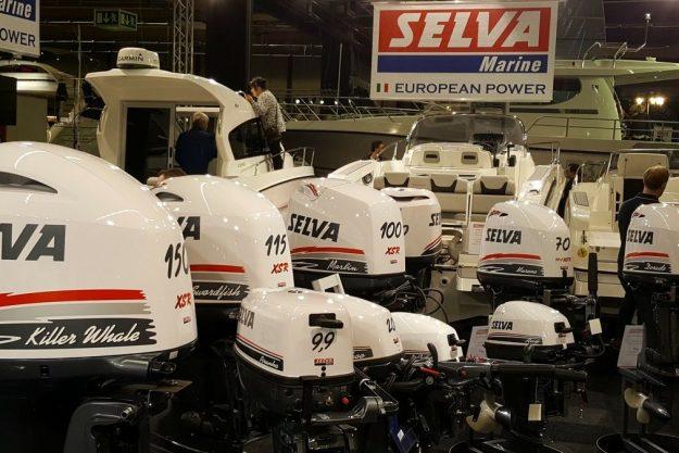 Ett stort utbud av motorer från Selva Marine på Båtmässansäsongen 2017