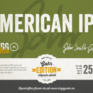 American IPA All Grain Ølsett