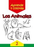 Los animales: Aprende y colorea 2