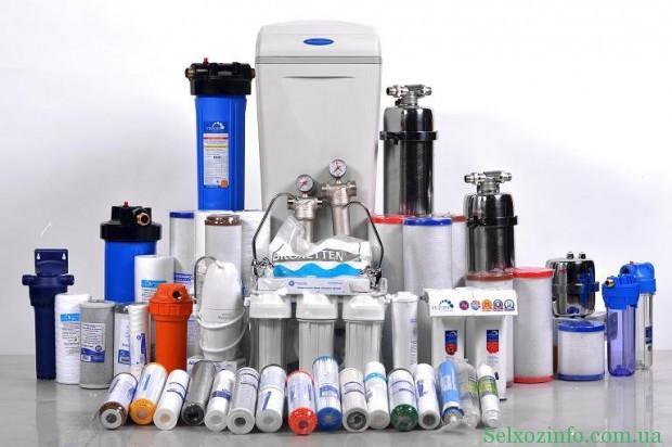 Виды фильтров для очистки воды