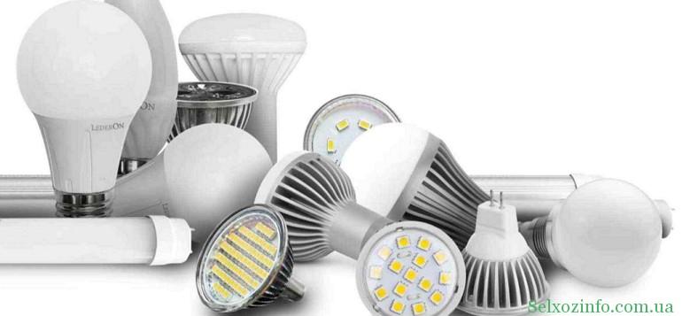 Светодиодные лампы в Украине