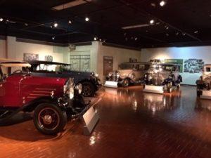 Gilmore Car Museum vintage automobile exhibit
