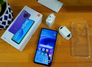 فتح علبة هاتف Xiaomi Redmi Note 9T