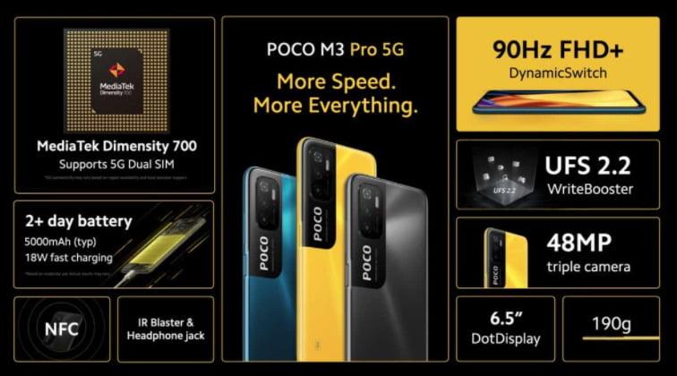 ممبزات جوال شاومي بوكو ام 3 برو Xiaomi POCO M3 Pro