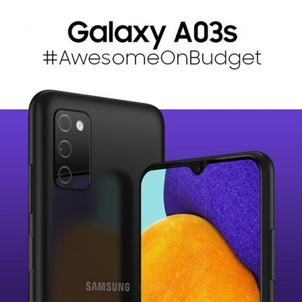 مواصفات هاتف سامسونج جلاكسي آي 03 إس Samsung Galaxy A03s